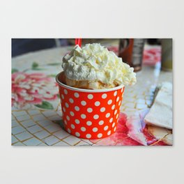 A Cup of Great Licks Canvas Print