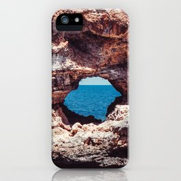 Island, Ocean, Holiday, Coast, Spain, Water, Waves, Sunshine, Surfer iPhone Case