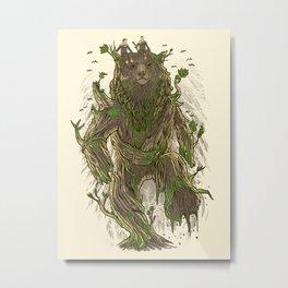 Treebear Metal Print