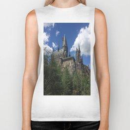 Hogwarts Castle Biker Tank
