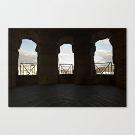 Opening to a new world Canvas Print