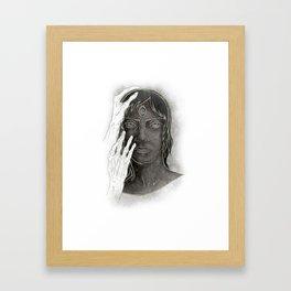 Psychic Medium Framed Art Print
