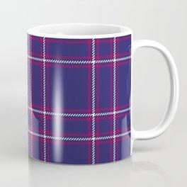 Big Blue Plaid Coffee Mug