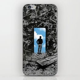 The Optimist iPhone Skin