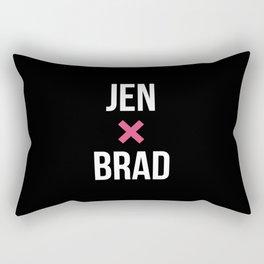 JEN + BRAD Rectangular Pillow