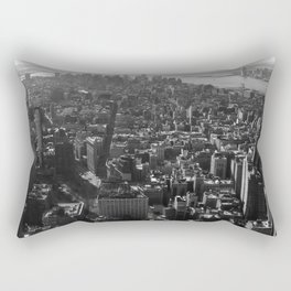 Manhattan Skyline - NY, fine art print, new york city, high quality photo Rectangular Pillow