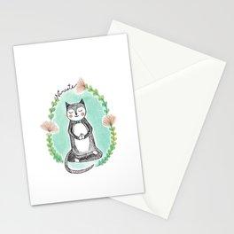 Yoga Cat Stationery Cards