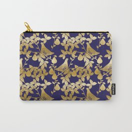 Partridge in a Pear Tree Christmas pattern Carry-All Pouch