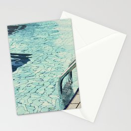 Summertime swimming Stationery Cards