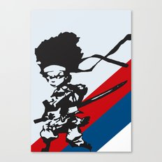 Huey Freeman - The Boondocks Canvas Print
