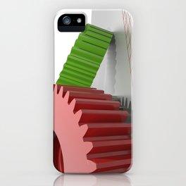 Precision mechanics iPhone Case
