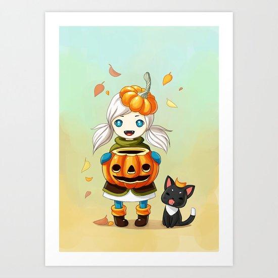 Pumpkin 2 Art Print