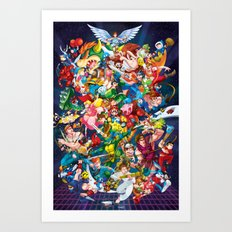 Playing with Power! Art Print