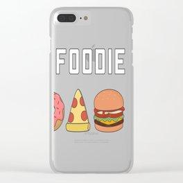Cute and Kawaii Food Clear iPhone Case