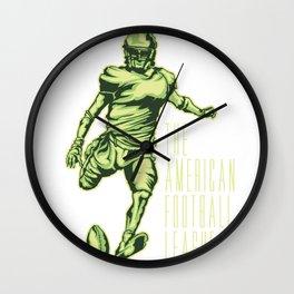 the american football league Wall Clock
