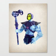 Polygon Heroes - Skeletor Canvas Print