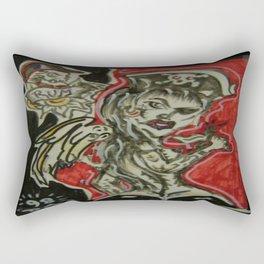 Pirate Rum Rectangular Pillow