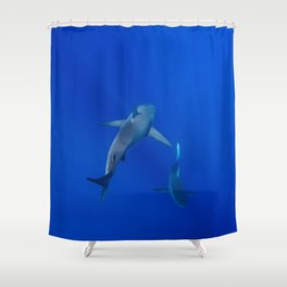 Hawaiian Shark III Shower Curtain