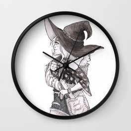 Soul Food Witch Wall Clock