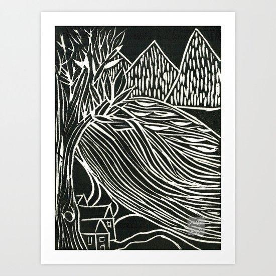 lil town Art Print