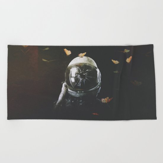 surrounded Beach Towel
