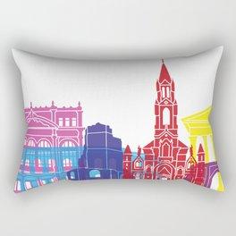 Nimes skyline pop Rectangular Pillow