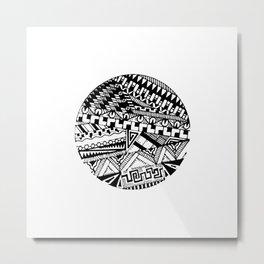 Lines 1 Metal Print