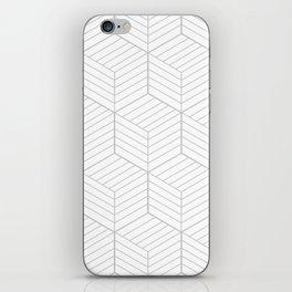 ZADA ((calm gray)) iPhone Skin
