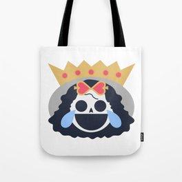 Brook Emoji Design Tote Bag