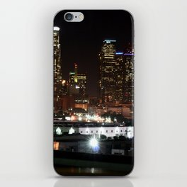 Bright Lights in the City of Angels. iPhone Skin