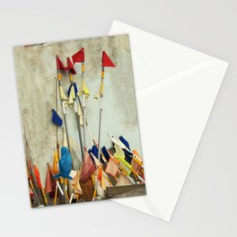 fishing flags Stationery Cards