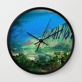 The Glitch Escape Wall Clock