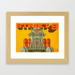 Strict 9 Framed Art Print
