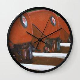 Trains Wall Clock