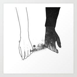 Souls talks first. Art Print