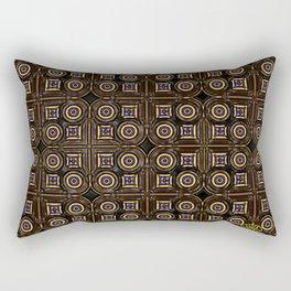 Circling the Square Rectangular Pillow