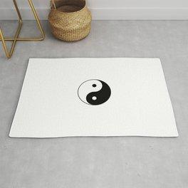 Yin and Yang 10 - Tao,Zen,Taoism,Dao,Harmony,religion,buddhism,buddhist,taijitu,taiji,taoist,china Rug