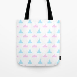Castle Print Tote Bag