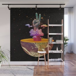 Peace Planet Wall Mural