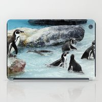 penguins iPad Cases featuring Penguins. by paulette hurley