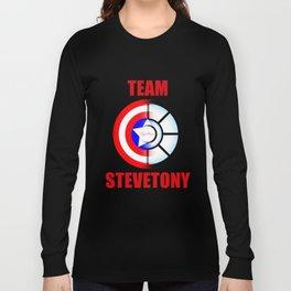 "Team SteveTony - ""Together."" Long Sleeve T-shirt"