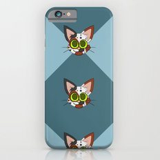 Repeating Calico Pattern iPhone 6s Slim Case