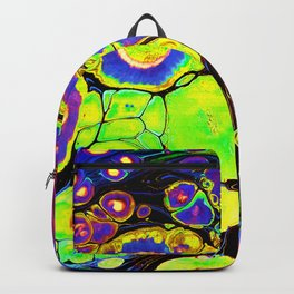 Flourescent Abstract Backpack
