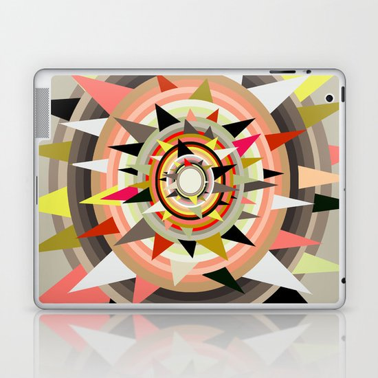 Sharp Bulls-eye  Laptop & iPad Skin