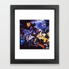 good and bad Framed Art Print