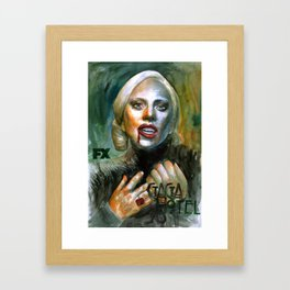 I am very hungry Framed Art Print