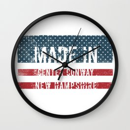 Made in Center Conway, New Hampshire Wall Clock