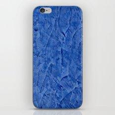 Beautiful Vibrant Light Blue Plaster #society6 #bluedecor #blue iPhone & iPod Skin