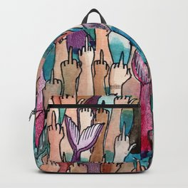 cool mermaids Backpack