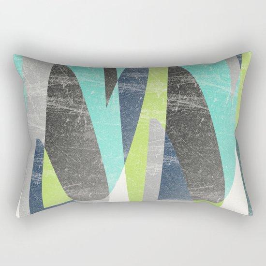 Fragments XV Rectangular Pillow